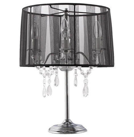 Black Contemporary Kokoon Costes Lamp