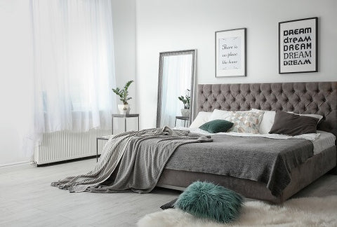 Grey Double Bedroom