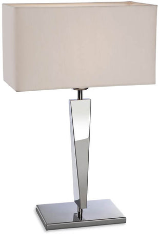 Stainless Steel Mansion Table Lamp