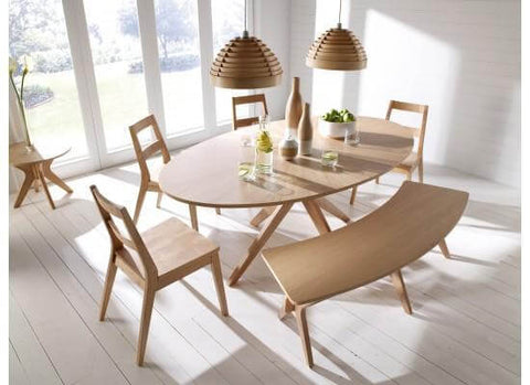 White Oak Maloma Dining Table