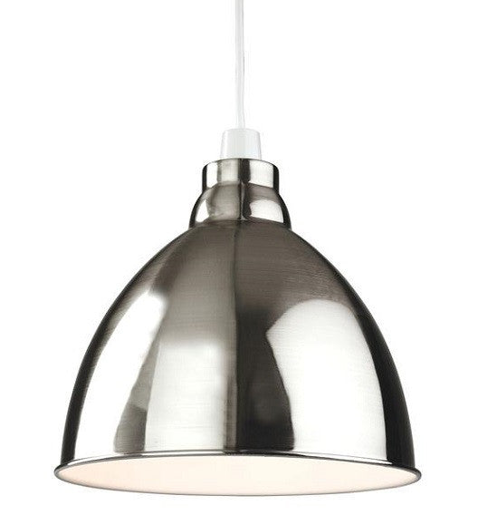 Brushed Chrome Union Easy-Fit Pendant Light