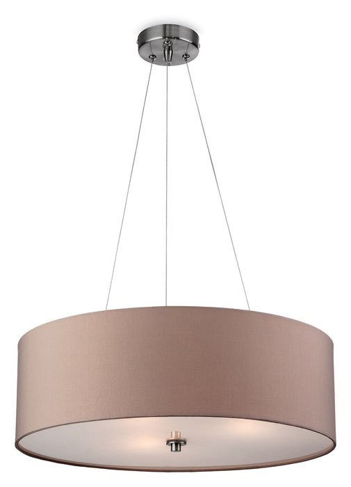 Taupe Phoenix Pendant Light