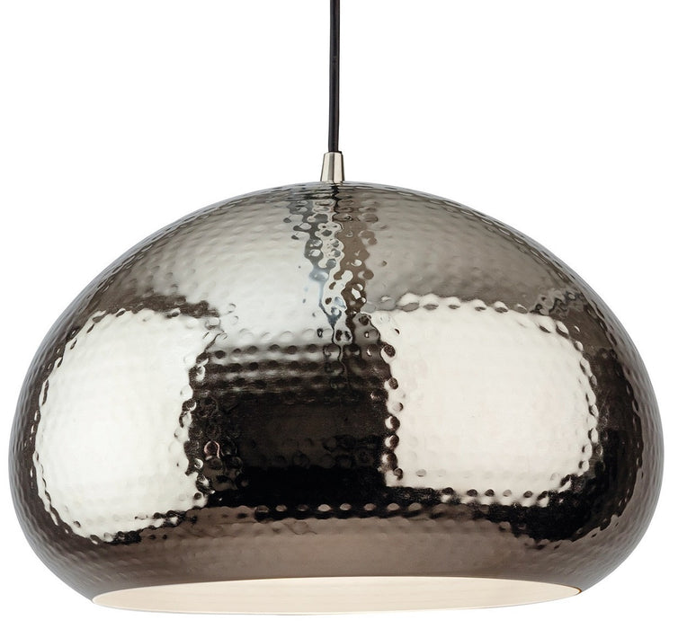 Nickel Assam Pendant Light
