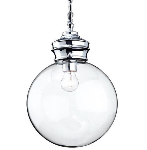 Chrome Omar Pendant Light
