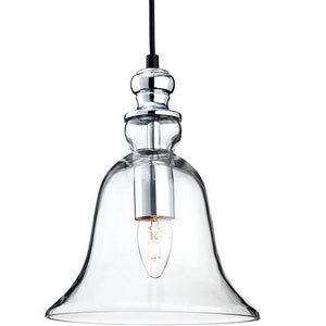 Clear Glass Omar Pendant Light