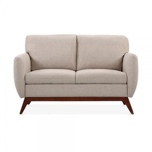 Cream Fabric 2 Seater Sofa