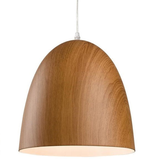 Brown Wood Forest Pendant Light