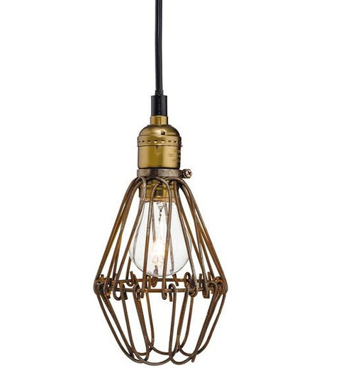 Rustic Brown Arcade Pendant Light