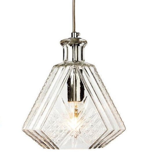Chrome Decanter 1 Light Pendant - 3448CH
