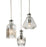 Chrome Decanter 3 Light Pendant