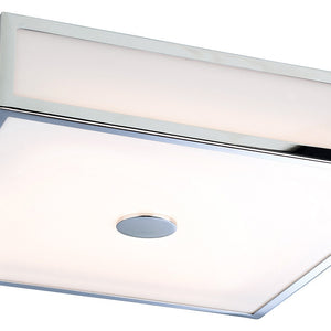 Chrome Aruba LED Flush Fitting Light