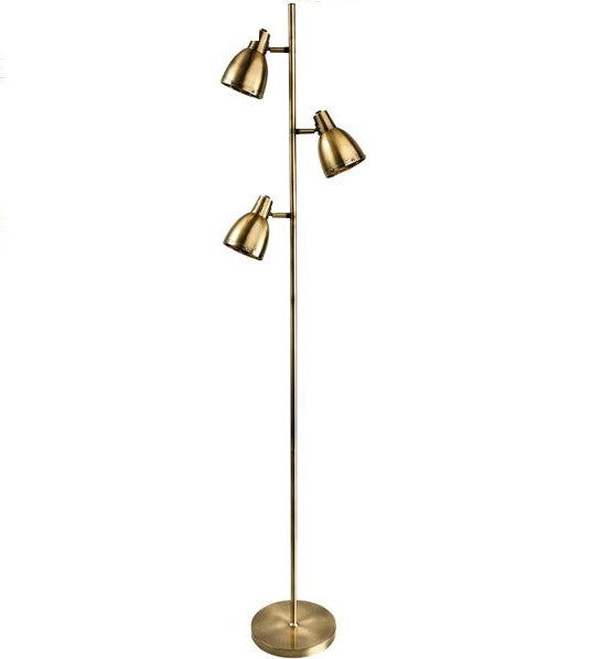 Antique Brass Vogue Floor Lamp