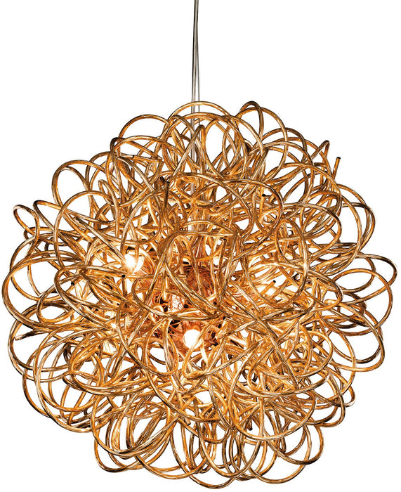Copper Stella Pendant Light