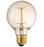Chrome Vintage Filament Light - 40W E27