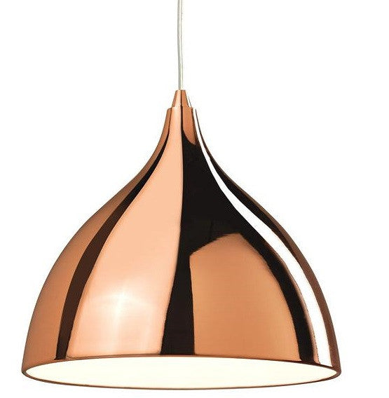 Copper Café Pendant Light