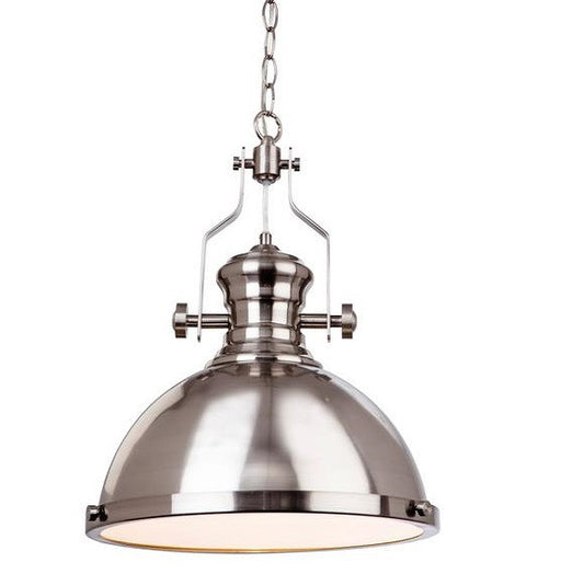 Brushed Steel Albion Pendant Light