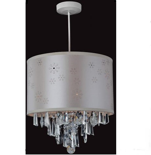 Chrome Crystal Easy-Fit Pendant Light