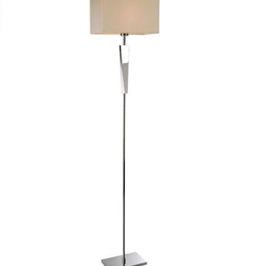 Stainless Steel Mansion Floor Lamp
