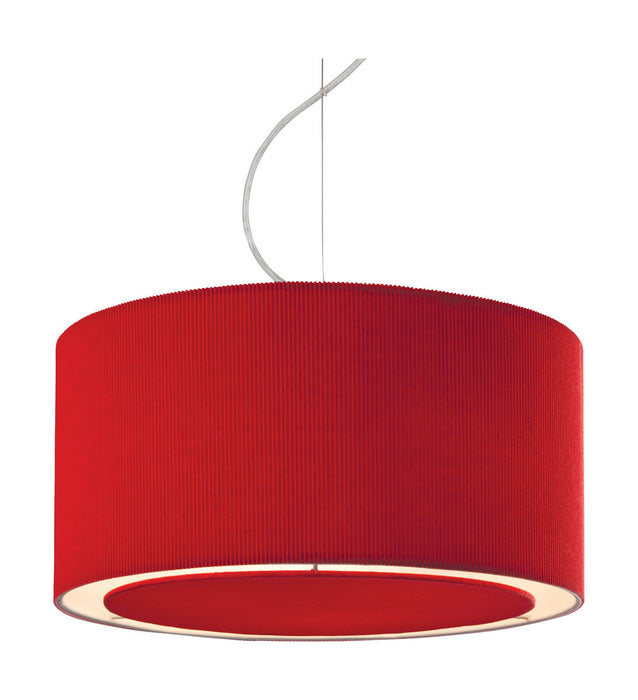 Red Clio Pendant Light