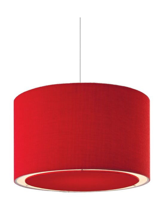 Red Emily Easy-Fit Pendant Light