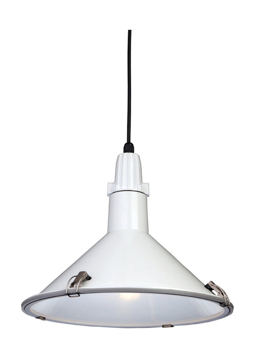 White Eden Pendant Light