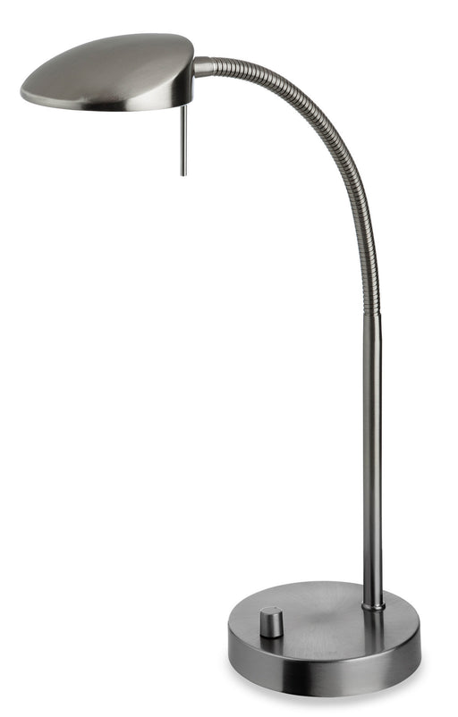 Brushed Steel Paris Table Lamp