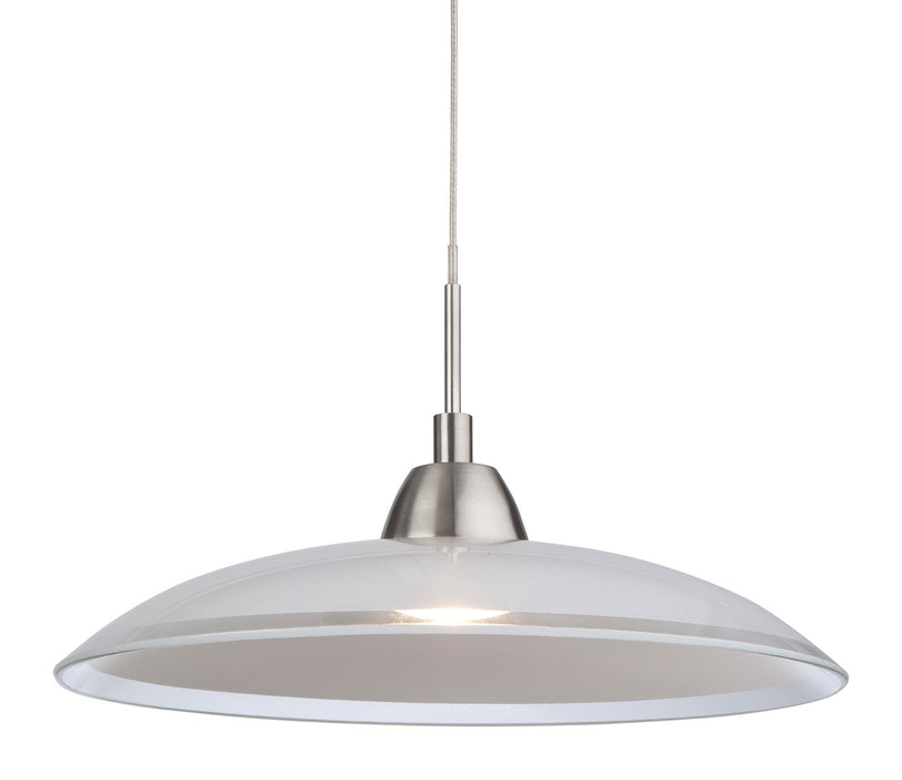 Brushed Steel Nassau LED Pendant Light
