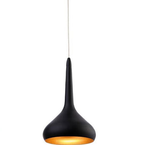 Black Bar LED Pendant Light