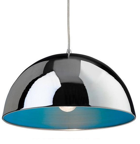 Blue Bistro Pendant Light