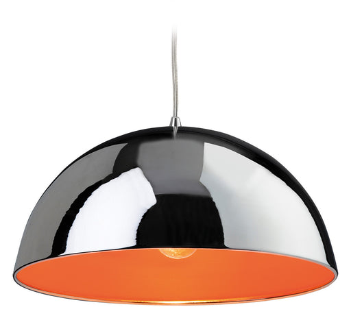 Orange Bistro Pendant Light