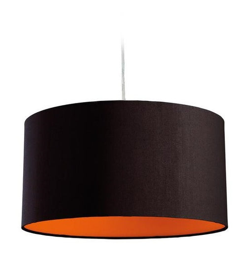 Orange Zeta Pendant Light