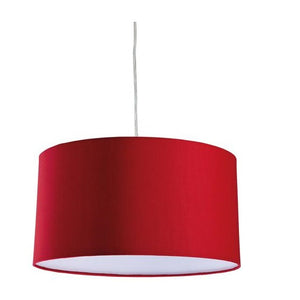 Red Zeta Pendant Light