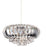 Chrome Crown Easy-Fit Pendant Light