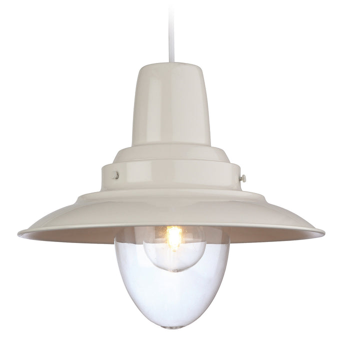 Cream Fisherman Pendant Light