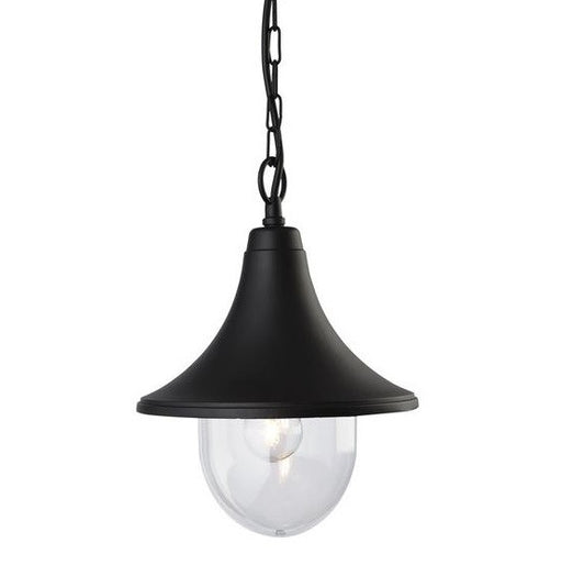Black Station Lantern Pendant Light