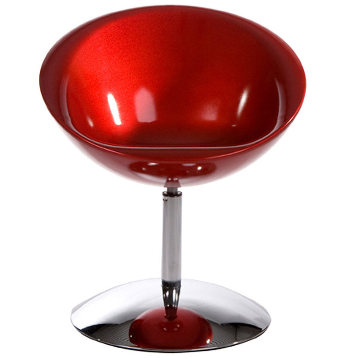 Red Modern Kokoon Bowl Chair AC00070RE