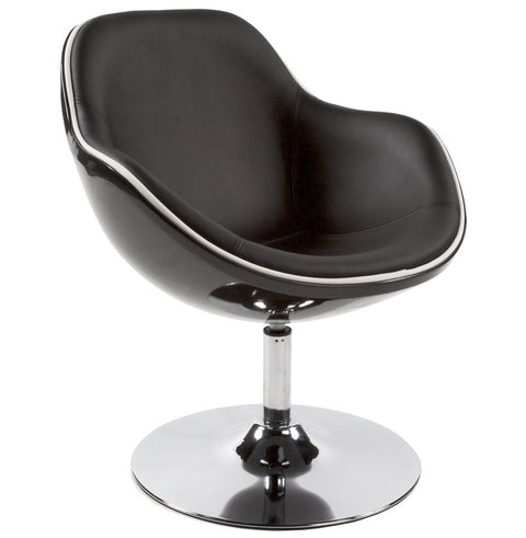 Black Retro Kokoon Daytona Chair AC00220BLBL
