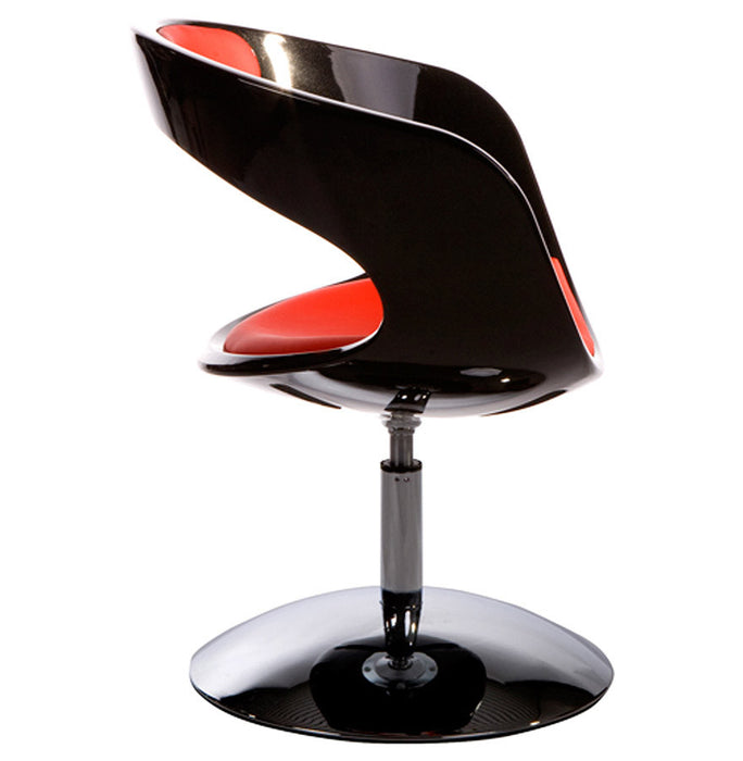Black and Red Designer Kokoon Kirk Chair AC00360BLRE