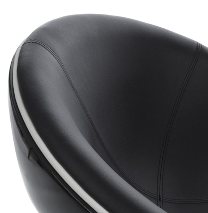 Black Retro Kokoon Sphere Chair AC00390BLBL