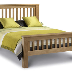 Amsterdam Oak King Bed - High Foot End Amsterdam Oak Bed