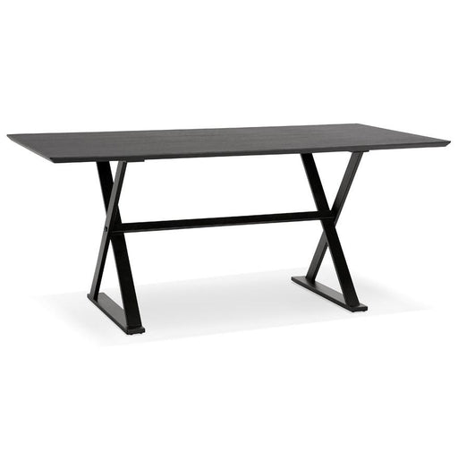 All Black Modern Maud Office Desk