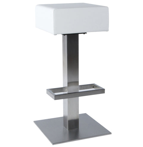 White Modern Kokoon Noble Bar Stool BS00140WH