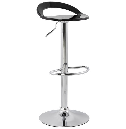 Black Modern Kokoon Ghost Bar Stool BS00150BL