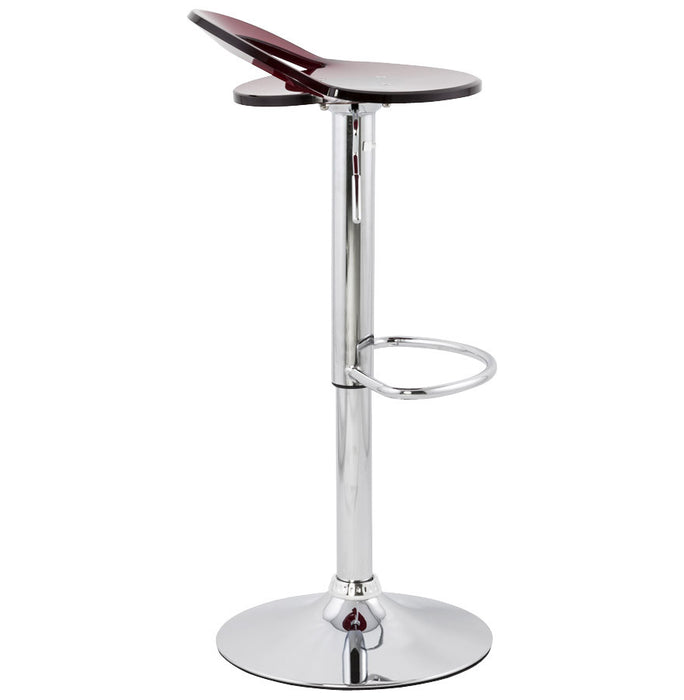 Red Modern Kokoon Ghost Bar Stool BS00170RE