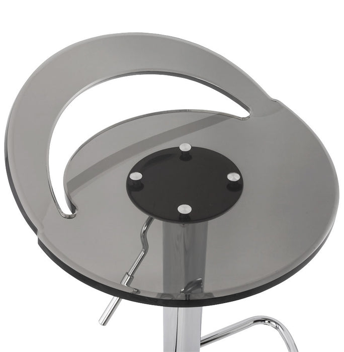 Smokey Modern Kokoon Ghost Bar Stool BS00180SM