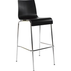 Black Modern Kokoon Cobe Kitchen Bar Stool