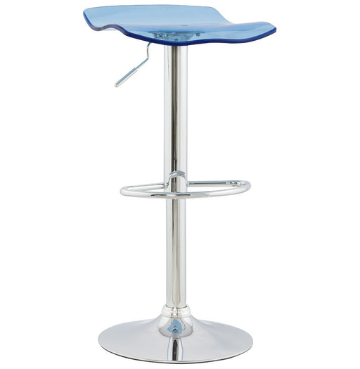 Smokey Blue Modern Kokoon Surf Bar Stool BS00290SM