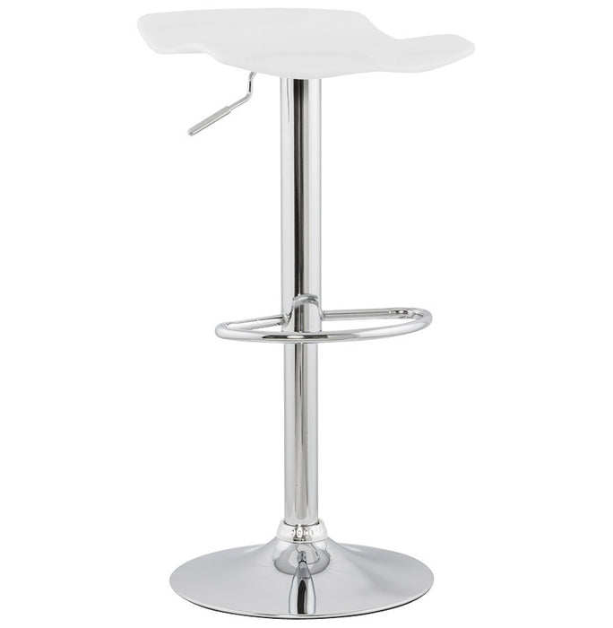White Modern Kokoon Surf Bar Stool BS00300WH