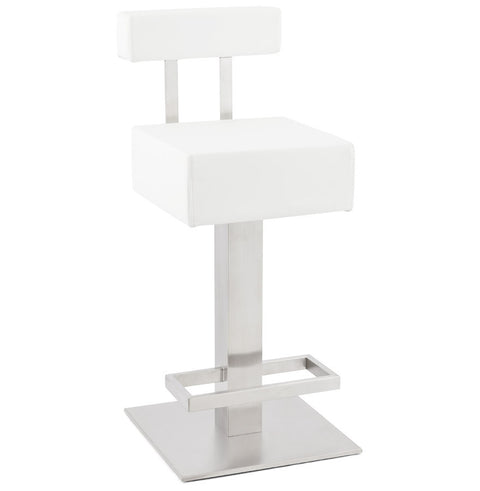 White Designer Kokoon Noble Mini Bar Stool BS00670WH