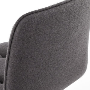 Dark Grey Retro Jersey Bar Stool BS00880DG